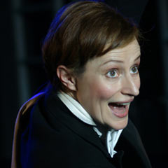 Anna Francolini in Victor/Victoria at the Southwark Playhouse. Photo: Roy Tan