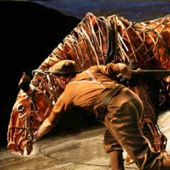 VIDEO: War Horse at the New London Theatre
