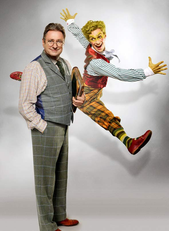 Alan Titchmarsh and Cris Penfold to star in The Wind in the Willows