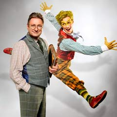 Photo: Alan Titchmarsh in The Wind in the Willows