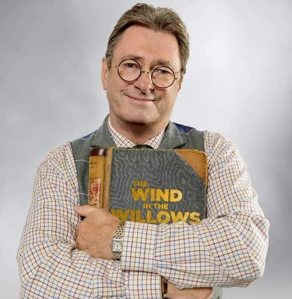 Alan Titchmarsh in The Wind in the Willows.