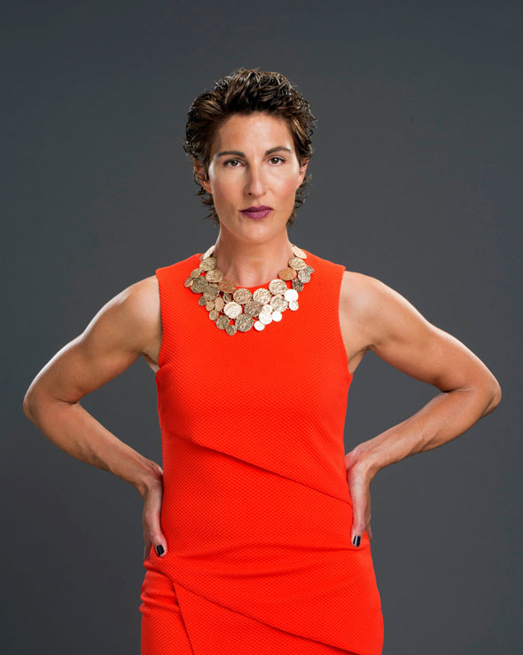 Tamsin Greig in Women on the Verge of a Nervous Breakdown