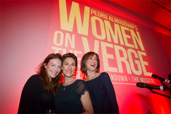 Women on the Verge of a Nervous Breakdown press launch: Willemijn Verkaik, Tamsin Greig and Haydn Gwynne